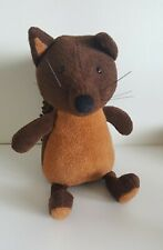 """Jellycat London Noodles Squirrel 12"""" Plush Stuffed Toy Animal HTF Woodlands Doll"""