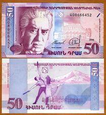 Armenia, 50 dram, 1998, Pick 41, UNC