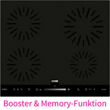 Beko 60 cm Einbau Induktionskochfeld autark Booster Memory rahmenlos Slide Touch