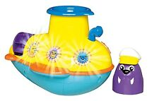 TOMY BATH TOY SEE UNDER THE SEA SUBMARINE BRAND NEW IN BOX 18 MONTHS AND UP