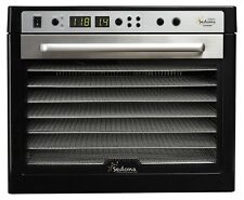 Tribest Sedona Supreme Commercial Food Dehydrator with 9 Stainless Steel Tray