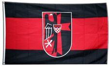 Fahne Sudetenland mit Wappen Flagge  Hissflagge 90x150cm
