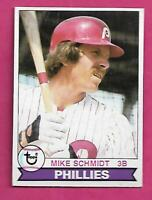 1979 TOPPS # 610 PHILLIES MIKE SCHMIDT  CARD (INV# C0936)