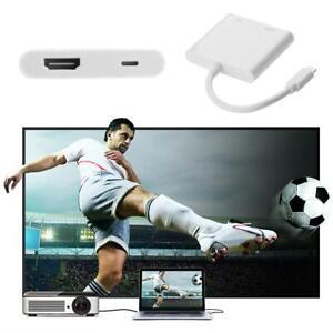 1080P Lightning zu HDMI Digital USB AV TV Kabel Adapter für iPad Apple iPhone