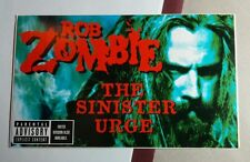 ROB ZOMBIE THE SINISTER URGE FACE MUSIC STICKER