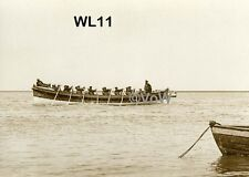 North Norfolk Postcard - Wells next the Sea - Lifeboat 'Baltic' 1916-36 - WL11.