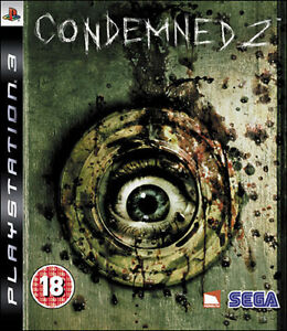 Condemned 2 PS3 includes manuals*for Collectors*