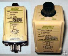 New! Agastat SSC22BGA Timing Relay 240 VAC 10-300s 10A