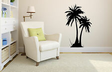 Large palm tree decal, palm tree vinyl sticker, beach wall art design