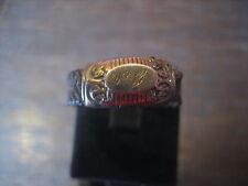 Rarität Biedermeier Trauerschmuck Haar Ring Haarring Haarschmuck um 1820