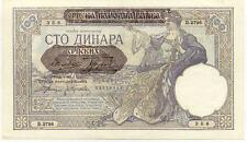 Billet banque SERBIE SERBIA YOUGOSLAVIE YUGOSLAVIA 100 DINARA 1941 UNC NEUF 356