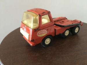 Vintage Tonka Mini, Red Skip Bin Truck, Construction Site
