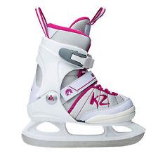 Patins de patinage sur glace et de hockey roses