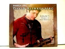SEALED ! David Klinkenberg CD Legacy...Hymns of Our Heritage, 1160649, 2007