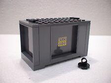 LEGO® Eisenbahn Container grau  für 3677, 7898, 7938, 7939 - City - NEU 2