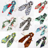 Scrunchies Ribbon Bands Elastic Hairtie Hair Band Ties Bow Scarf Rope Girl Women