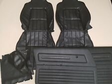 HOLDEN HJ HX SANDMAN FRONT SEAT COVERS DOOR TRIMS & CENTER ARM REST COVERS