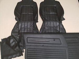 HOLDEN HJ HX HZ SANDMAN FRONT SEAT COVERS DOOR TRIMS & CENTER ARM REST COVERS