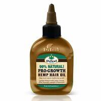 Difeel Hemp 99% Natural Hemp Hair Oil - Pro-Growth 2.5 oz.