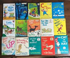 Lot 14 DR. SEUSS Vintage Bright & Early HB books Cat in Hat Green Eggs Ham