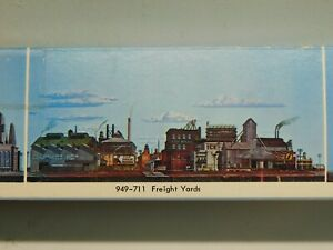"""Walthers Scenemaster 949-711 - Freight Yards Backdrop - 24""""x36"""""""