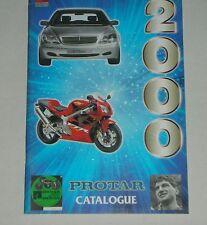 CATALOGO PROTAR 2000. AUTO -MOTO . NUEVO 47 PÁGINAS .  English / Italian.