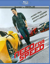 Disney DreamWorks Need for Speed (Blu-ray Disc, 2014)