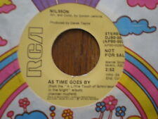 Nilsson 45 As Time Goes By RCA PROMO