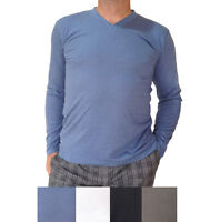 PACKS of Men's Bamboo Long-sleeve T-shirts, Organic tees + Free & Fast Postage!