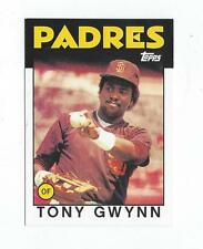 2010 Topps Cards Your Mom Threw Out Original Back Tony Gwynn '86 Padres