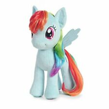"My little pony rainbow dash pony 13""  Plush w/sparkling hair"