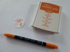 Stampin up ✿ Stempelkissen Kürbisgelb + Maker ✿ Set Stift Pumpkin Pie Orange TOP