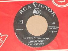 """HARRY BELAFONTE -Cu Cu Ru Cu Cu Paloma- 7"""" 45"""
