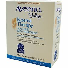 Aveeno Baby Eczema Therapy Soothing Bath Treatment5 Bath Packets, 3.75 oz