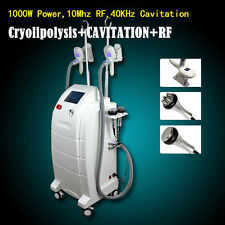 Multi-function beauty equipment frozen body slimming cavitation rf machine