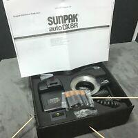 Sunpak Auto DX 8R Thyristor Minolta +All Other SLR Hot Shoe Mounts, Tested Works