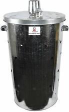 Srendi® Extra Large 110L Litre Metal FIRE BIN Galvanised Garden Incinerator Extr