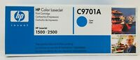 HP C9701A LaserJet Color Cyan Toner Cartridge Factory Sealed