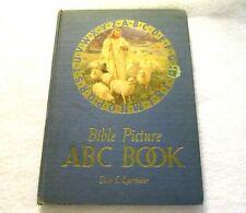 Bible Picture ABC Book by Elsie E. Egermeier vintage 1954 hardcover book