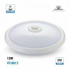 Plafonnier LED 12W avec capteur IR 360°120°