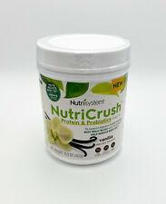 NutriCrunch Vanilla Shake Mix 16.3oz Protein & Proboitics - Exp 2/12/2021