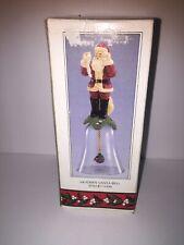 Nib 1992 Novelino - Modern Santa Bell - Christmas Collectible - Cta406