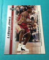 LEBRON JAMES ROOKIE 2003-04 UPPER DECK PHENOMENAL BEGINNING ROOKIE CARD #8