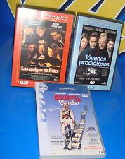 Pelicula EN DVD especial relaciones humanas y de amistad-3 dvds buen estado