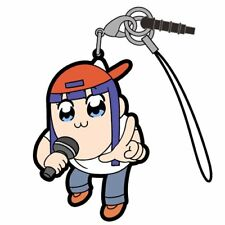 Pop Team Epic Pipimi Mic Ver. Tsumamare Cospa Pinch Rubber Phone Strap Anime Art