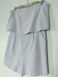 Ladies Sportsgirl Sleeveless Playsuit Size 12 BNWT *RRP $99.95*