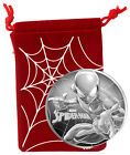 SPIDER-MAN - MARVEL SERIES - 2017 1 oz Pure Silver Coin - Tuvalu - Perth Mint