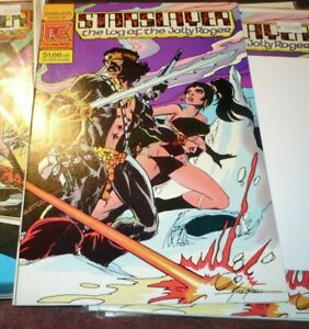 STARSLAYER #5 Pacific Comics 2nd appearance Groo 1985 1st GrimJack