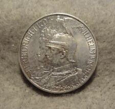 New listing 1901 Prussia 2 Mark .900 Silver Km-525