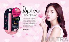 Mentholatum Lip Ice Sheer color Strawberry Color Changeable Lip